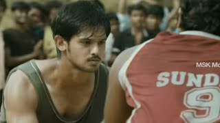 Nakul's Basketball Challenge - Vallinam Tamil Movie Scene