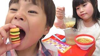 お店屋さんごっことお買い物ごっこの人気動画をまとめて連続再生!! こうくんねみちゃん play shopping Compilation