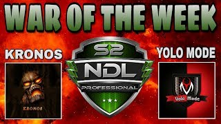 DEFEATING THE UNDEFEATED | NDL PRO | KRONOS and YOLO MODE