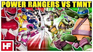 Power Rangers VS TMNT *DeathMatch*