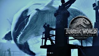 Why The Mosasaurus Boat Attack Scene Was Cut From Jurassic World Fallen Kingdom