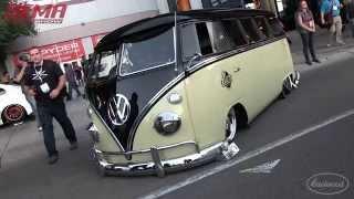 Mint 1965 VW Bus by Stone Custom Fab at SEMA 2015 - Eastwood