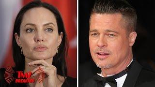 Angelina Jolie Files for Divorce from Brad Pitt | TMZ