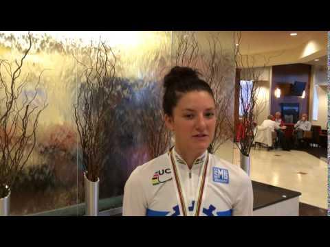 Chloe Dygert - Junior Women's Individual Time Trial World Champion