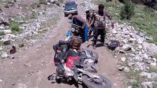 Derbi etx 150 fails | Badgoi Top Upper Dir | Utror Valley | Kalam to Kumrat on Motorcycle Gopro  |