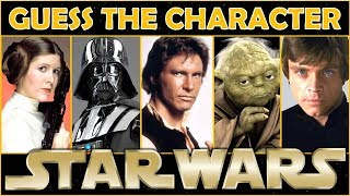 """Guess the Character """"STAR WARS"""" Trivia/Quiz/Challenge"""