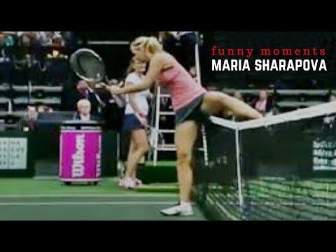 Tennis. Maria Sharapova - Top Funny Moments