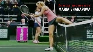 Tennis. Maria Sharapova - Top Funny Moments