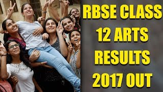 RBSE Class 12 Arts results 2017 declared | Oneindia News