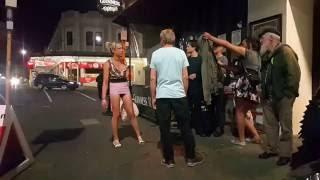 Auckland K Road Tranny Fight.