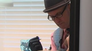 Maryland tattoo artist uses talent to help breast cancer survivors