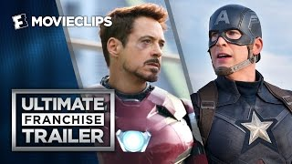 Captain America: Civil War Ultimate Franchise Trailer (2016) - Chris Evans Action Movie HD