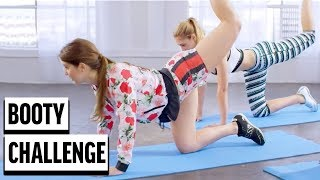 BOOTY CHALLENGE! | Amanda Cerny & Guess Models