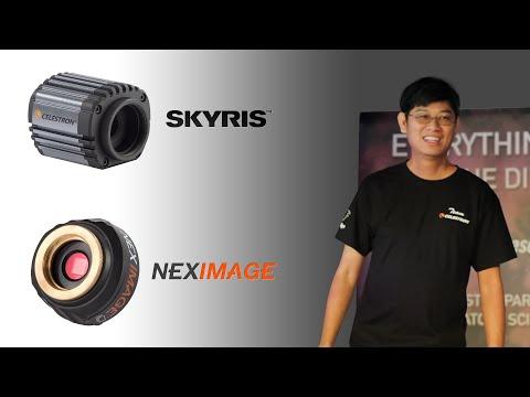 Christopher Go Celestron Skyris 132 and NexImage Burst