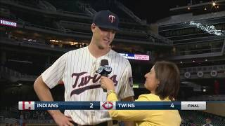 Twins fans give Slegers ovation after MLB debut
