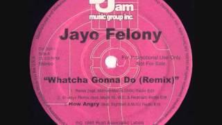 "Jayo Felony feat  Method Man and DMX - Whatcha Gonna Do (Remix) (12"" Promo Single)"