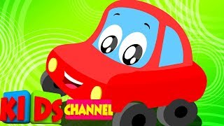 Vehicle Videos for Toddlers | Cartoons by Kids Channel - Live Stream