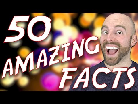 watch 50 AMAZING Facts to Blow your Mind! #57