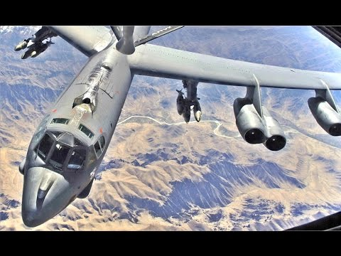 OLD but POWERFUL US Air Force B-52 Military Aircraft