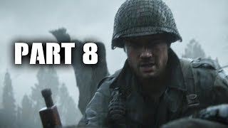 Call of Duty WW2 Gameplay Walkthrough Part 8 - HILL 493 (COD WWII Campaign)