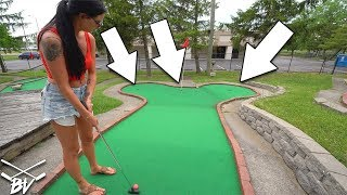 HOW IS THIS MINI GOLF COURSE SUPPOSED TO WORK?!? | Brooks Holt