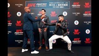 UFC Xangai: A 1ª encarada entre Anderson Silva e Kelvin Gastelum