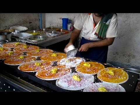 Indian Street Food - Dosa | Masala Dosa | Chinese Dosa