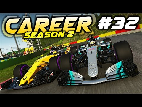 F1 2017 Career Mode Part 32: HUGE GAINS WITH STRATEGY LUCK!