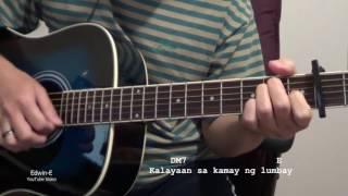 Pasensya Ka Na  by Silent Sanctuary Guitar Chords Strumming with Lyrics
