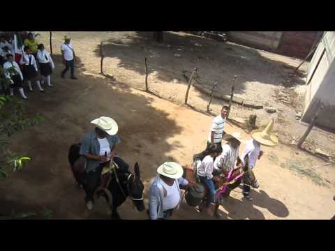 Desfile en Zomatlan 2014 Vista Elevada