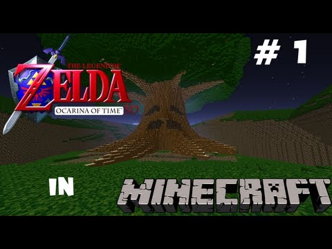 The Legend of Zelda Ocarina of Time Minecraft Map Update 1