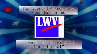 LWV Primary 2017 - Olympia council pos 5