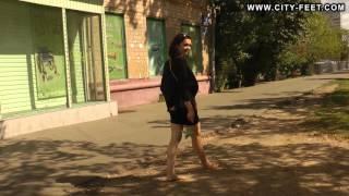 City-Feet.com - A girl in an office dress - Ksenia [2]