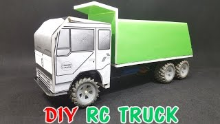 How To Make a RC Truck at home