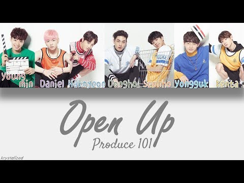 Xxx Mp4 Produce 101 Knock Open Up 열어줘 HAN ROM ENG Color Coded Lyrics 3gp Sex