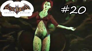 Batman: Arkham Asylum Gameplay Walkthrough Part 20 - Titan Posion Ivy