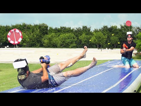 Xxx Mp4 Nerf Slip And Slide Battle Dude Perfect 3gp Sex
