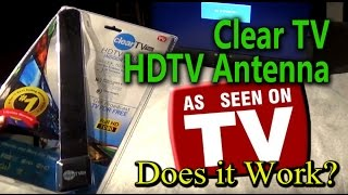 Clear TV - HDTV Digital Indoor Antenna Review