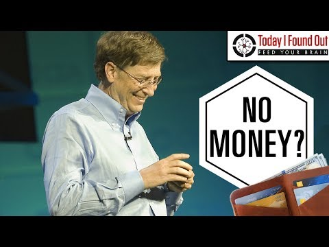 What Does Bill Gates Carry Around in His Wallet