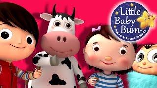 Rig A Jig Jig | Nursery Rhymes | By LittleBabyBum!