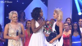 Miss Columbia Suzi Roberts crowned Miss South Carolina 2017