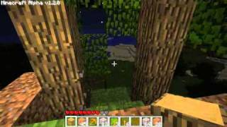 Let's Play Minecraft part 54: Floating House Visions