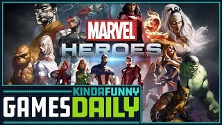 Rest in Peace Marvel Heroes - Kinda Funny Games Daily 11.15.17