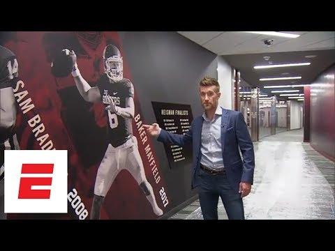 Marty Smith s exclusive tour of Oklahoma s football facilities ESPN