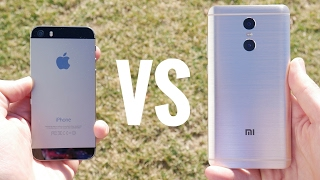 Apple iPhone 5S vs Xiaomi Redmi Pro?
