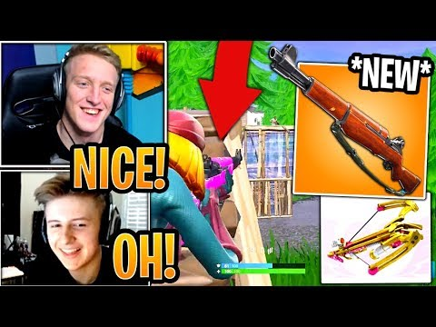 Xxx Mp4 Streamers First Time Using NEW Infantry Rifle UNVAULTED Crossbow Fortnite Moments 3gp Sex