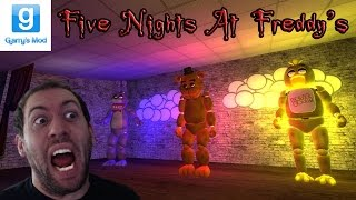 Five Nights at Freddy's GMod Horror Map With Minx! HORRIFYING ENDING!!!!