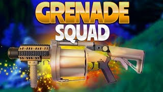 GRENADE SQUAD (Fortnite Battle Royale)