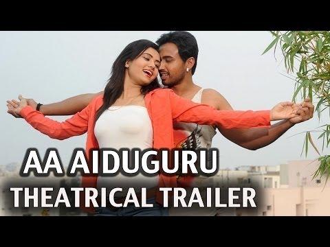 Aa Aiduguru Theatrical Trailer HD - Kranthi, Tanishq Reddy, Asmita Sood.