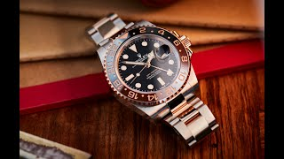 ROLEX – GMT-Master II Oystersteel and Everose